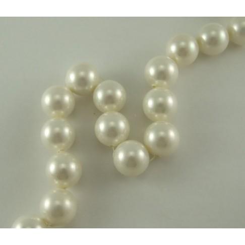 PL-A1820 Kriauklės perlas, baltos sp, 16mm