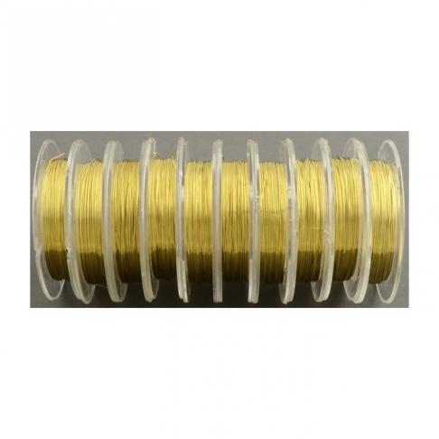 V-0311 Vielutė, 0.3mm storio, už ruloną 10m, AUKSO sp.