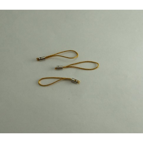 AUK-30170 Virvutė pakabukams, aukso sp. 5cm