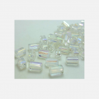 KR-K8448 Kristalo karoliukas, 8x4mm, SKAIDRUS