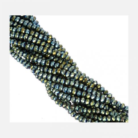 R-6970 Kristalo karoliukas, rondelė, 6mm, TURKIO AB