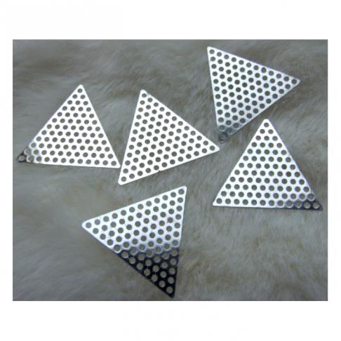 7-35355 Trikampė plokštelė, ruošinys ,35mm, su skylutėm