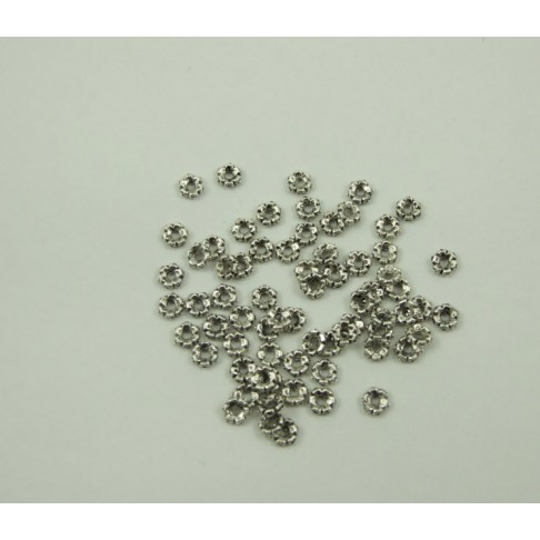 7-02539 sendinto sidabro sp. 4x1 mm, gėlytė