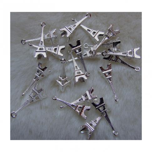 """SID-PK2716 Pakabukas """"Eifelio bokštas"""",  3D,  23x10mm"""