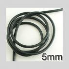 OD-JS5655  Natūralios odos virvutė, 5mm, kaina už 15 cm(nekarpyta)