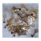 "AUK-0001 Pakabukas ""Auksinis raktelis"", 21x10mm"
