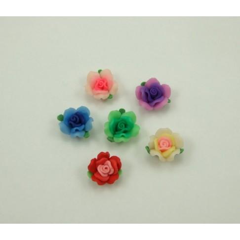FIM-1473 gėlytė, Violetinė, apie 18-20mm