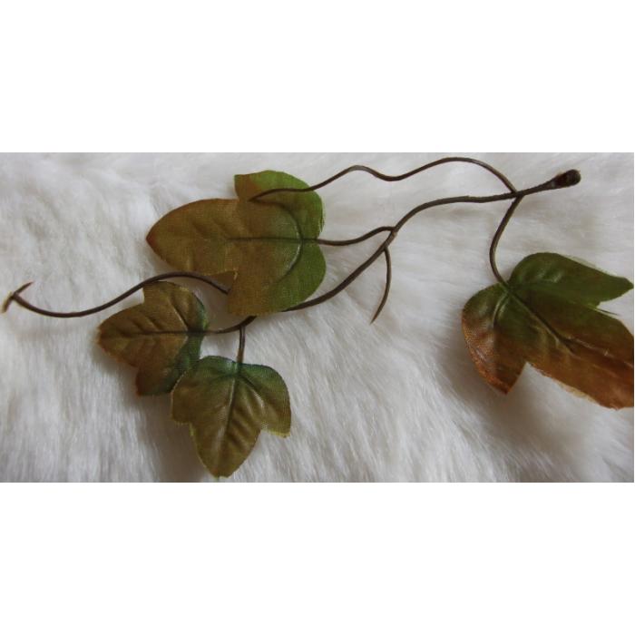 DK-P367 Augalo šakelė, apie 15 cm, žaliai-ruda