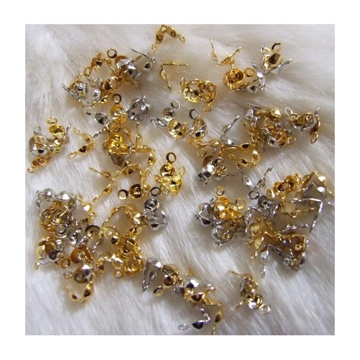 AUK-SID2283  MIX (Aukso-sidabro sp.) mazgelių paslepėjai, už 3g, apie 38 vnt.