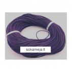 V-NAT1076 Nat., odos virvutė, 1.5mm, kaina už 1m, tamsiai violetinė