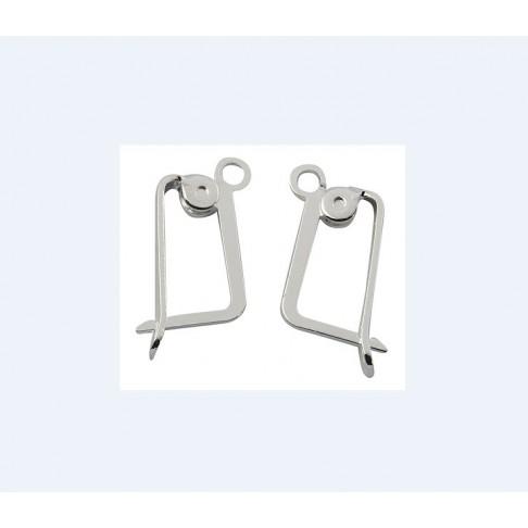 SID-4251 Kabliukai, 18x10mm, kaina už porą