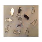 SID-10088 Ruošinys auskarams, klokštelės dydis 18x9mm, kaina už porą