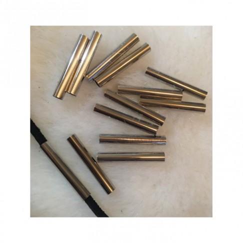 """7-N301  Intarpas """"Vamzdelis"""",  apie 30x4mm"""
