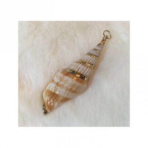 P-KRE4 Kriauklės pakabukas, apie 6 cm