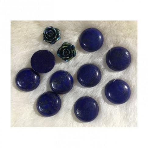 KAB-AKM822 Lapis lazuli, kabošonas, apie 20mm, 1 vnt.