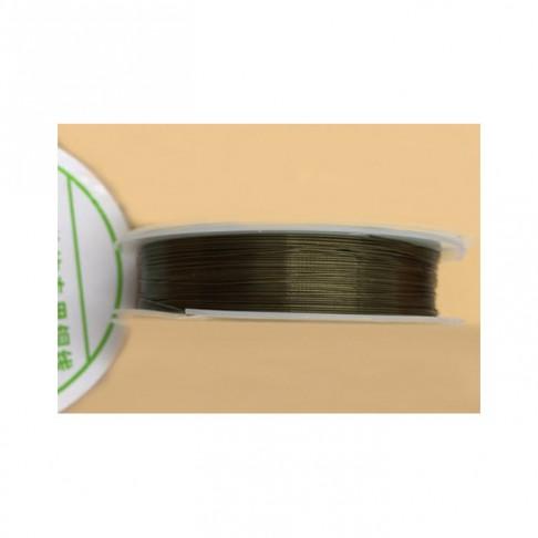 ZAL-V40186 Vielutė, 0.4mm, 10m, žalvario spalvos