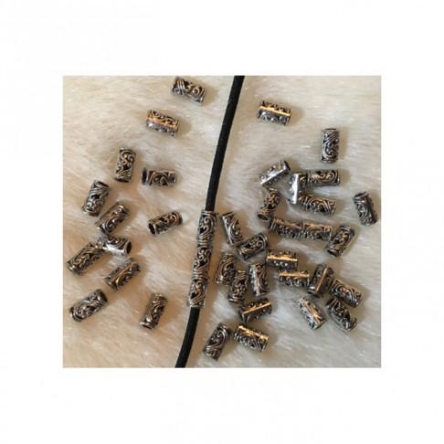 7-88459 Karoliukas, 9x4.5x vidus apie 3mm.