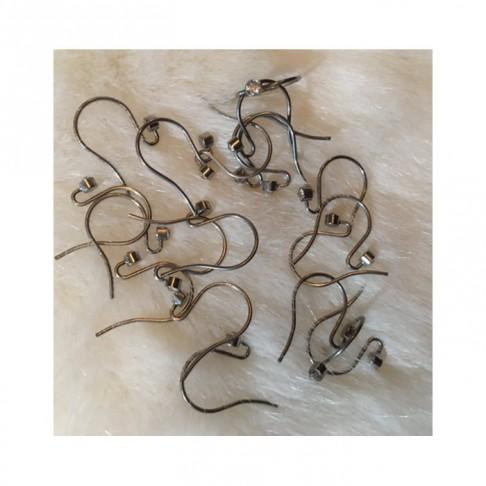 7-NP9987   Nerūdyjančio plieno kabliukai auskarams, su akutem, už porą
