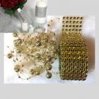 DEK-50595   Akrilinė dekoravimo juostelė plius girliandos, kaina už 1 įpakavimą